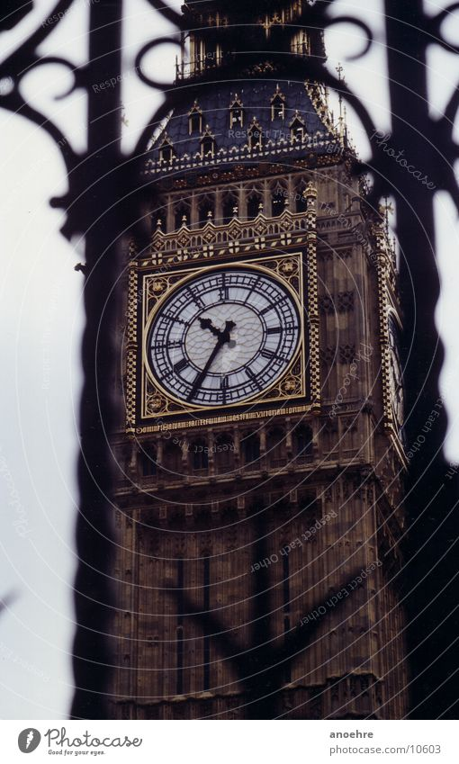 Architecture Tower Clock London England Big Ben