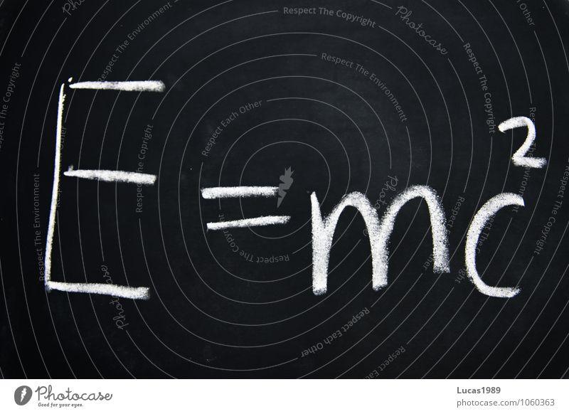 Einstein's Legacy Signs and labeling Physics School building einstein Chemistry Chalk Teacher Lessons Think Write Black White Wisdom Smart Intellect