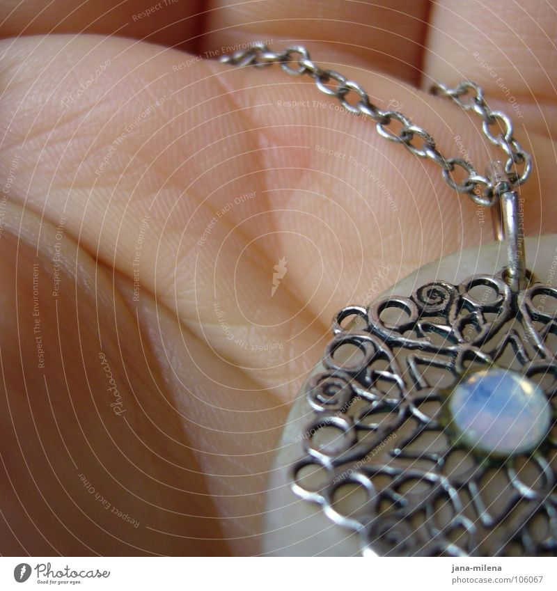 Hand Loneliness Emotions Line Gift Transience Luxury Jewellery Silver Fine Memory Followers Mother-of-pearl Line on the hand