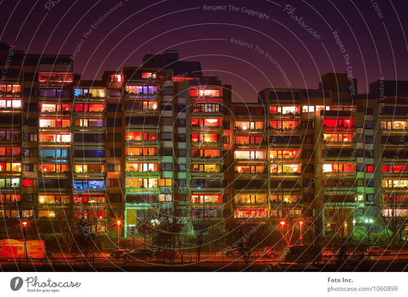 city flavour Hannover Town Downtown House (Residential Structure) Architecture Facade Exceptional Fantastic Gigantic Large Multicoloured Exterior shot Deserted