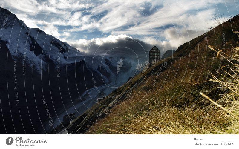 Nature Sky Vacation & Travel Clouds Loneliness Mountain Landscape Hiking Esthetic Alps Uniqueness Peak Austria Mountaineering Glacier National Park