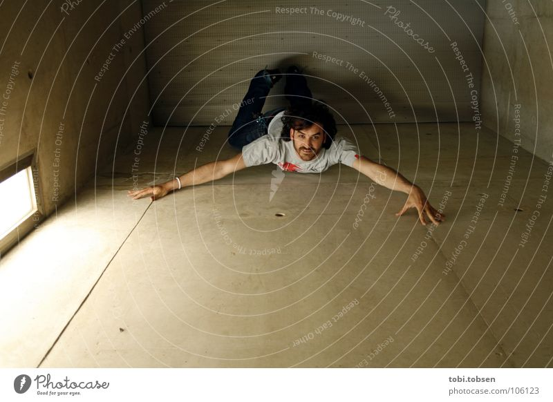 Sky Man Blue Black Wall (building) Gray Movement Jump Metal Concrete Climbing Insect Evil Blanket Spider Crawl