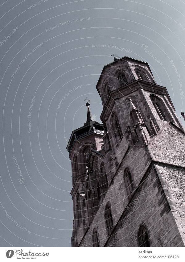 Religion and faith Power Architecture Germany Force Tower Landmark Gothic period House of worship Franconia Church spire Goettingen St. Johannis