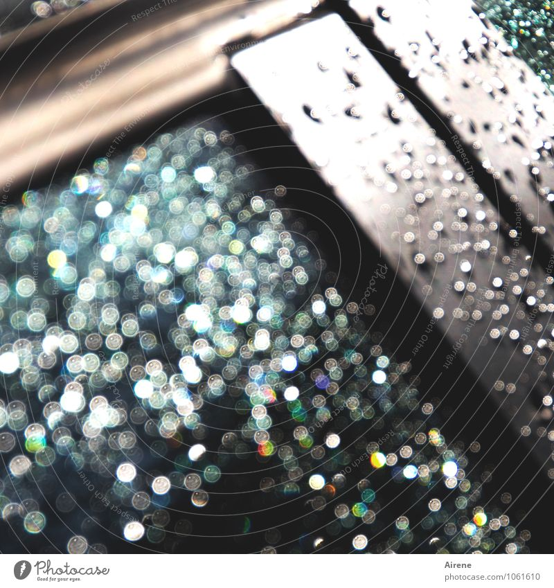 raindrop prelude Drops of water Rain Means of transport Motoring Vehicle Car Car Window Parts of Vehicle Car door Cleaning Exceptional Glittering Round