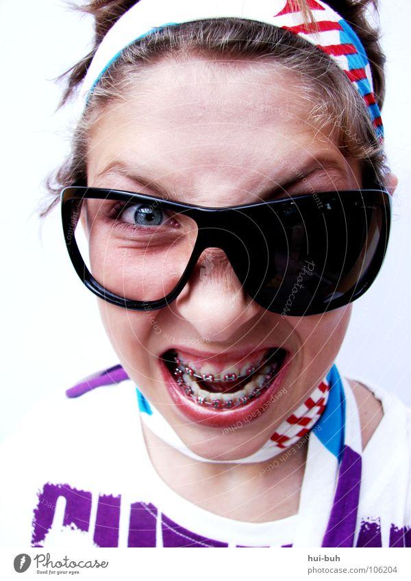 BracesSlang Anger Scream Eyeglasses Crazy Bathroom Seizure Aggravation stupid angry worse ugly cramp