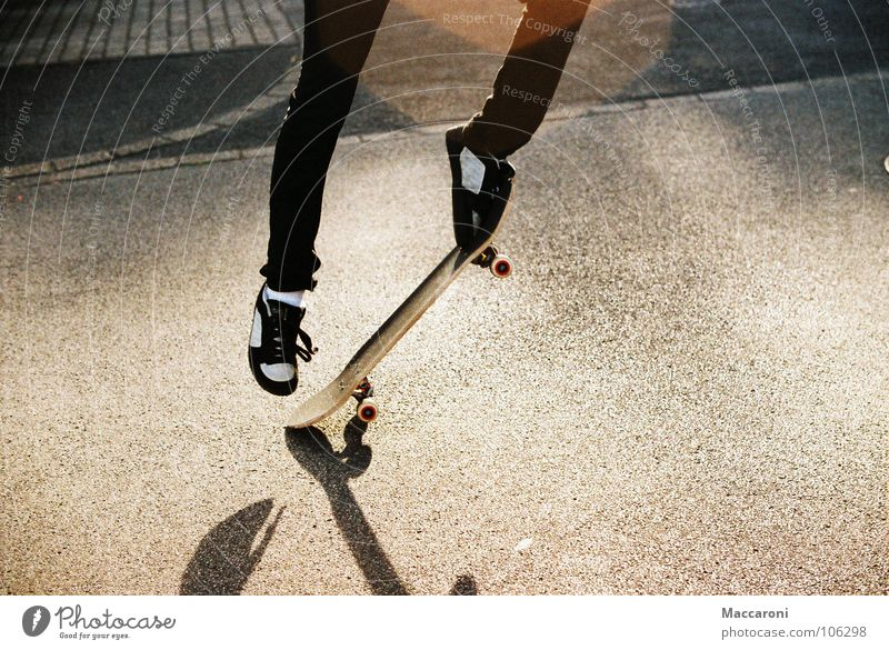 kickflip Summer Sports Warmth Street Footwear Utilize Driving Jump Yellow Black End Chucks Dazzle Kick Kickflip Physics Yellowness Skateboarding Paving stone
