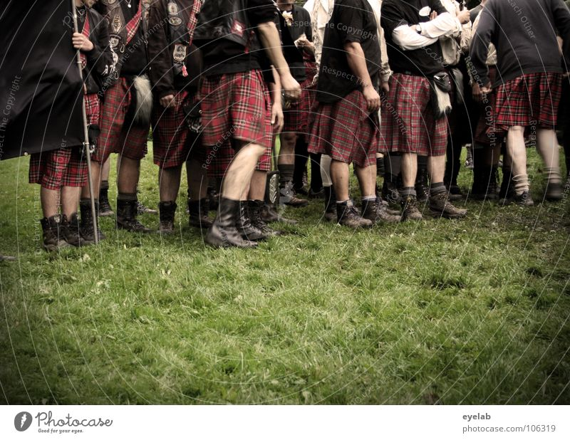 Brävharts Alleged feminisation Scotsman Kilt Grass Highlands Great Britain Highland Games Band together Squad Playing War Tradition Argument Leisure and hobbies