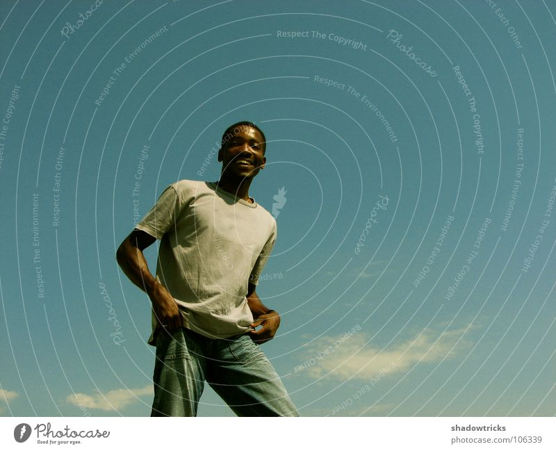 Human being Sky Blue Joy Laughter Europe Friendliness Asia Africa Guy Australia Fellow