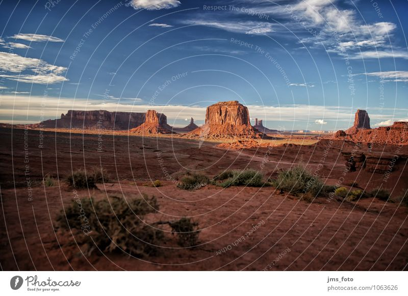 Monument Valley Vacation & Travel Tourism Adventure Far-off places Freedom Sightseeing Summer vacation Nature Landscape Elements Sand Sky Clouds