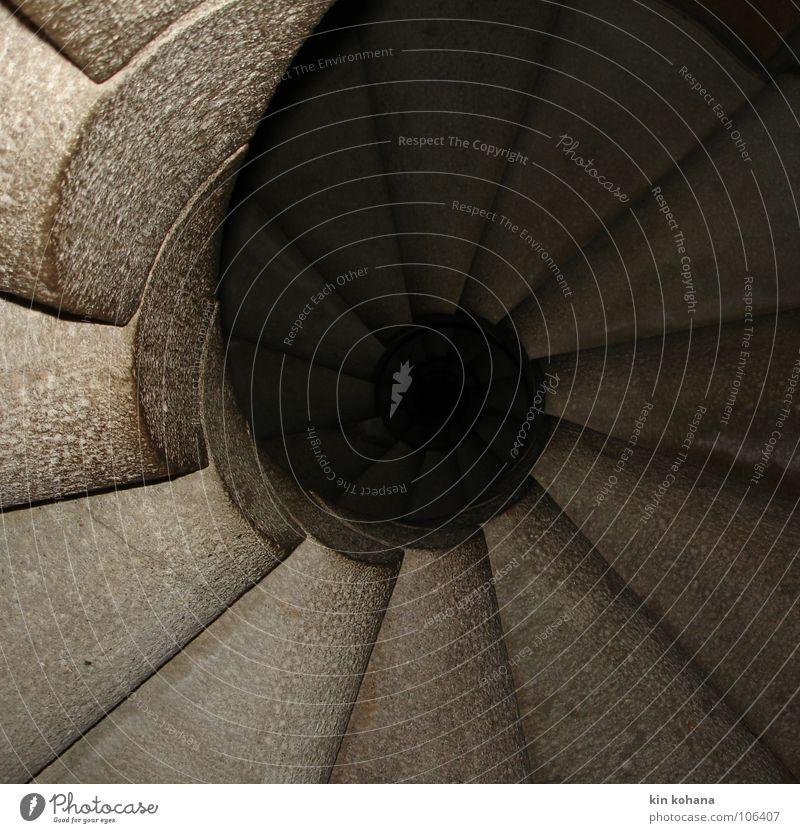 Vacation & Travel Calm Dark Cold Stone Architecture Circle Stairs Church Round Infinity Craft (trade) Spain Landmark