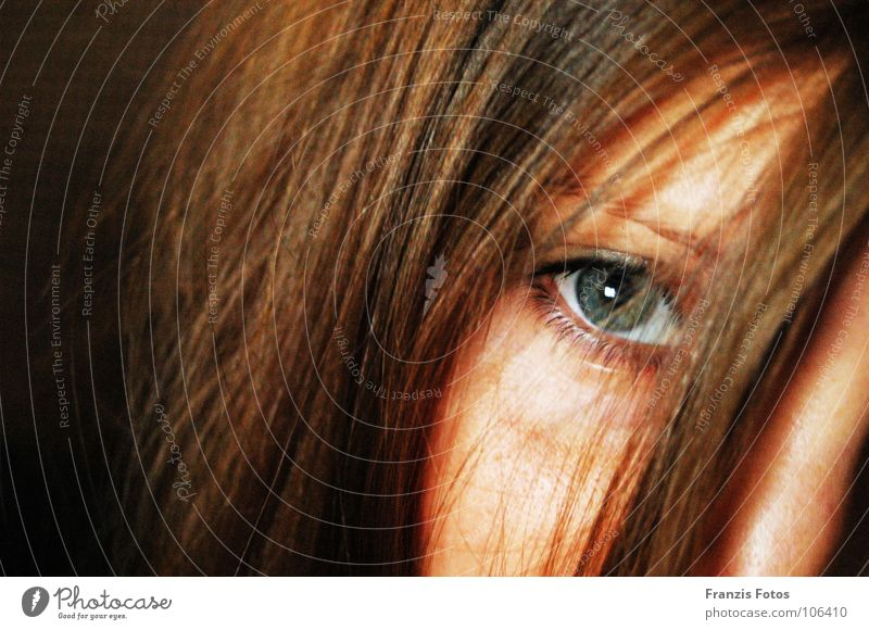 Woman Beautiful Green Blue Face Eyes Hair and hairstyles