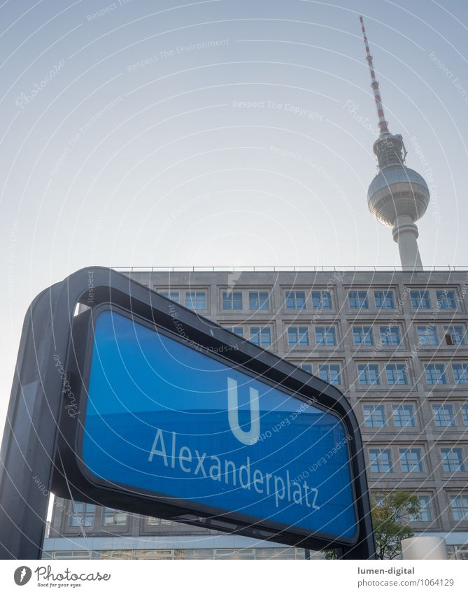 Alexanderplatz Station Berlin Germany Europe Capital city House (Residential Structure) Tower Tourist Attraction Landmark Berlin TV Tower Means of transport