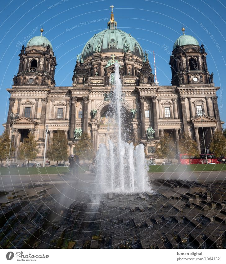 Berlin Cathedral Summer Park Germany Town Dome Tourist Attraction Air Traffic Control Tower Old Large Belief Religion and faith Vacation & Travel Europe