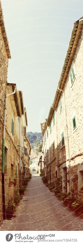 Street Art Esthetic Romance Spain Majorca Alley Narrow Dreamily Town Narrow Sidestreet