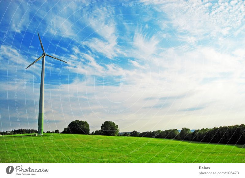 Nature Sky Green Clouds Far-off places Meadow Power Dirty Fog Earth Industry Energy industry Modern Electricity Technology Lawn