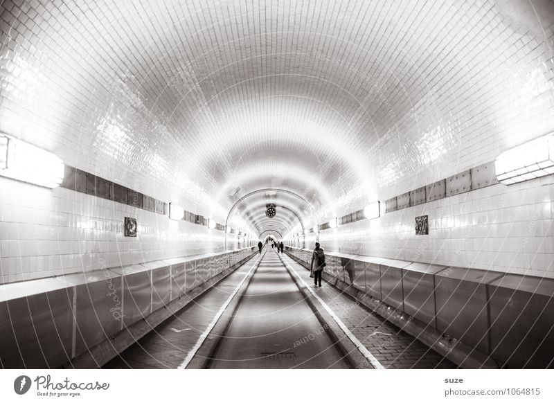 Misunderstanding, straight ahead or straight ahead. Economy Industry Logistics Tunnel Manmade structures Architecture Tourist Attraction Landmark Transport