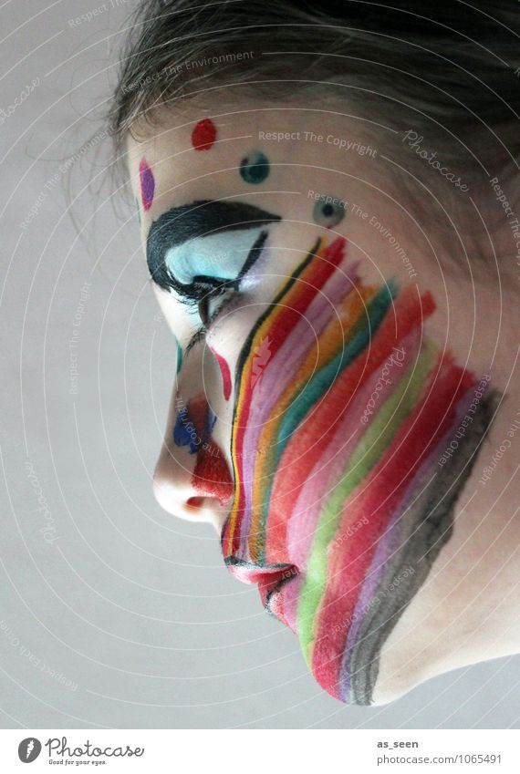 Child Youth (Young adults) Beautiful Colour Girl Face Eyes Life Emotions Moody Art Party Illuminate Design Power Infancy