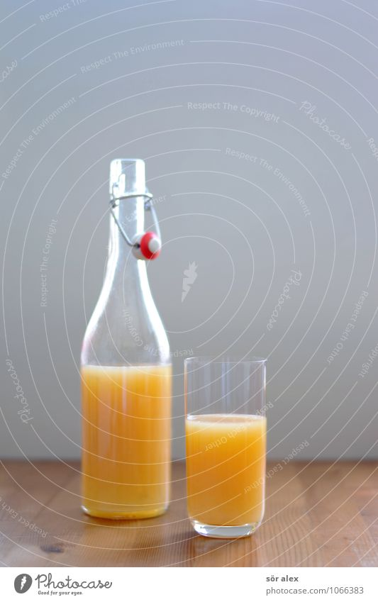 Healthy Food Fresh Glass Beverage Drinking Breakfast Bottle Vitamin Wooden table Cold drink Juice Vitamin C