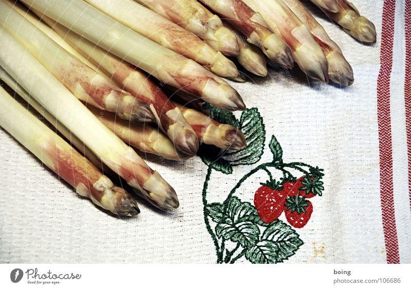 Spring Fresh Cooking & Baking Kitchen Gastronomy Stalk Vegetable Strawberry Root Towel Asparagus Molt Portion Asperagus harvest