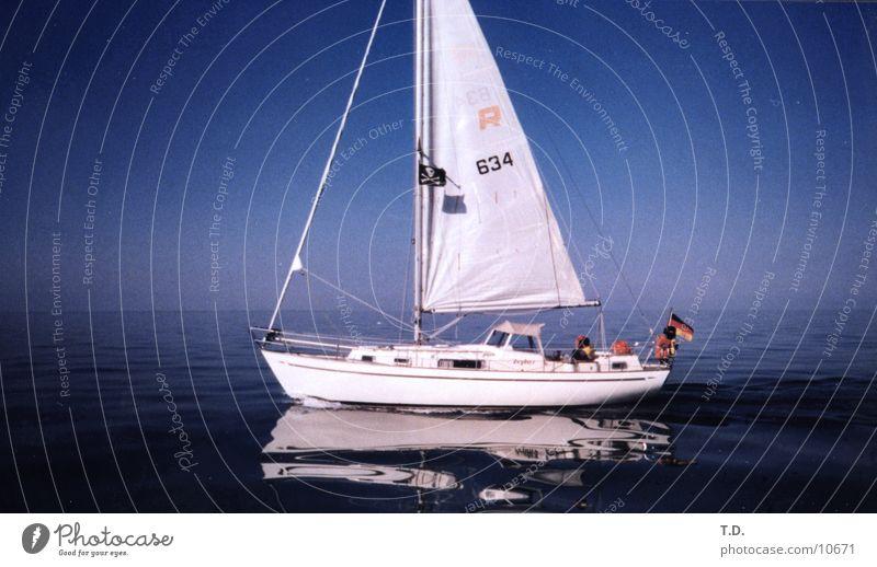 Pirates Of The.. Baltic Ocean Sailing Watercraft Calm Reflection Navigation Baltic Sea Denmark
