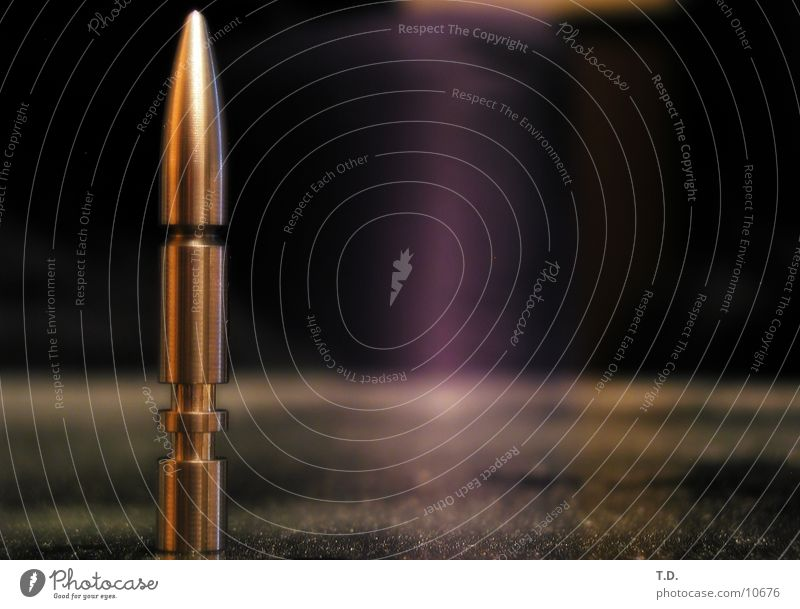 bullet Image type and genre Craft (trade) Metal Cartridge depth blur Macro (Extreme close-up) 60cm