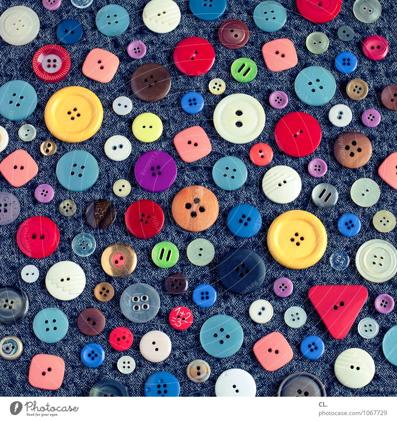1+2=3 Design Leisure and hobbies Handcrafts Fashion Clothing Kitsch Odds and ends Collection Buttons Esthetic Exceptional Happiness Uniqueness Round Many
