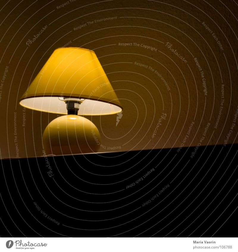 Loneliness Lamp Bright Sleep Electricity Gloomy Technology Decoration Discover Boredom Electric bulb Bedroom Lampshade Shaft of light Flare Activate