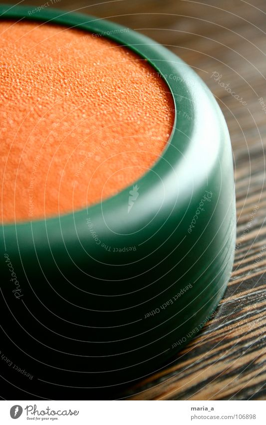 Green Water Wood Orange Wet Statue Damp Mail Transmit Stamp Foam rubber