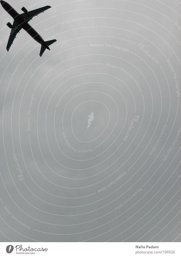 Sky Vacation & Travel Black Gray Dream Airplane Aviation Gloomy Near Cover Firmament