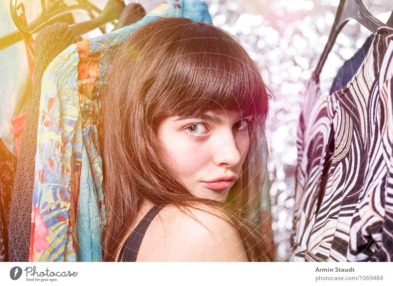 Recently in the wardrobe II Lifestyle Shopping Elegant Style Design Beautiful Human being Feminine Young woman Youth (Young adults) Hair and hairstyles Face 1