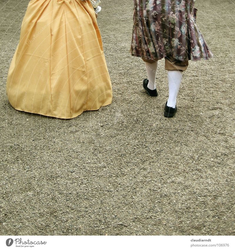 departure Historic Past Former Aristocracy Grand Ancient King To go for a walk Dress Stockings Going Go crazy Coat Frock coat Goodbye Cinema Castle