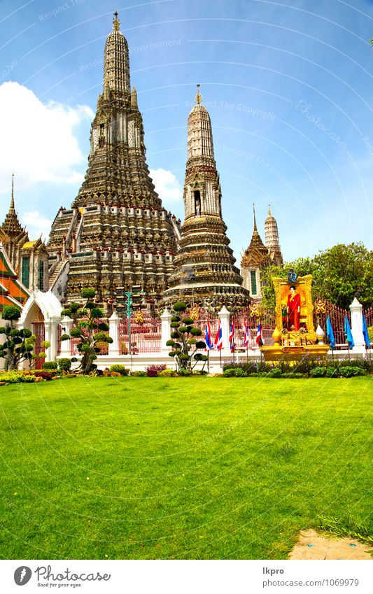 kho samui bangkok in thailand Vacation & Travel Tourism Art Sculpture Architecture Plant Sky Tree Grass Village Overpopulated Church Dome Palace Stairs Facade