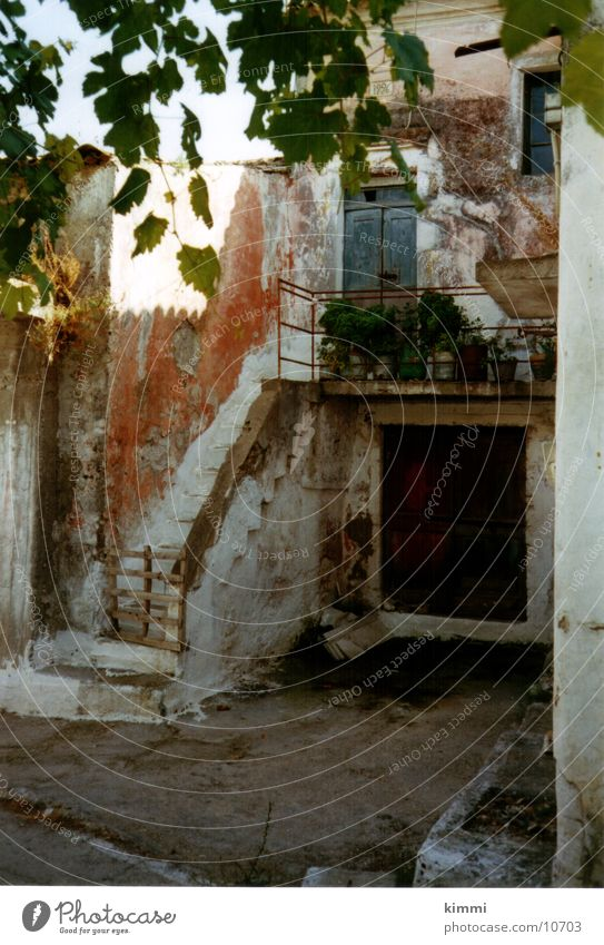 House (Residential Structure) Europe Romance Village Greece