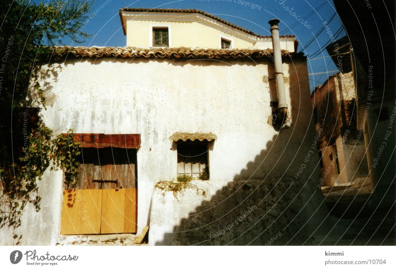 Corfiot impression House (Residential Structure) Village Greece Europe old house Corfu