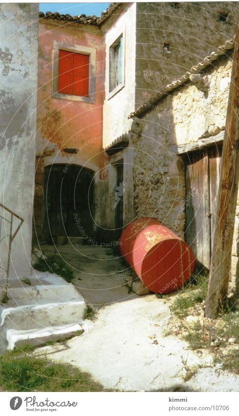 Corfiot impression 3 House (Residential Structure) Village Greece Europe old house Corfu