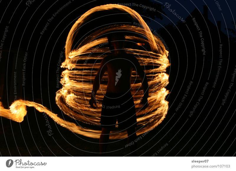 Human being Dark Art Blaze Culture Oil Gasoline Swirl Gale Torch Tornado