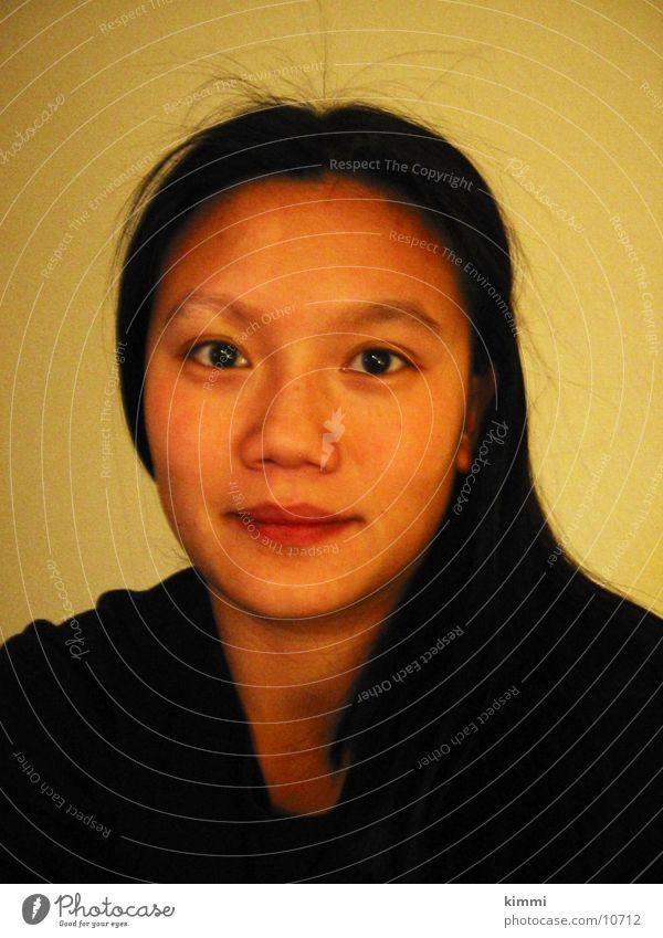model1 Asians Woman Portrait photograph