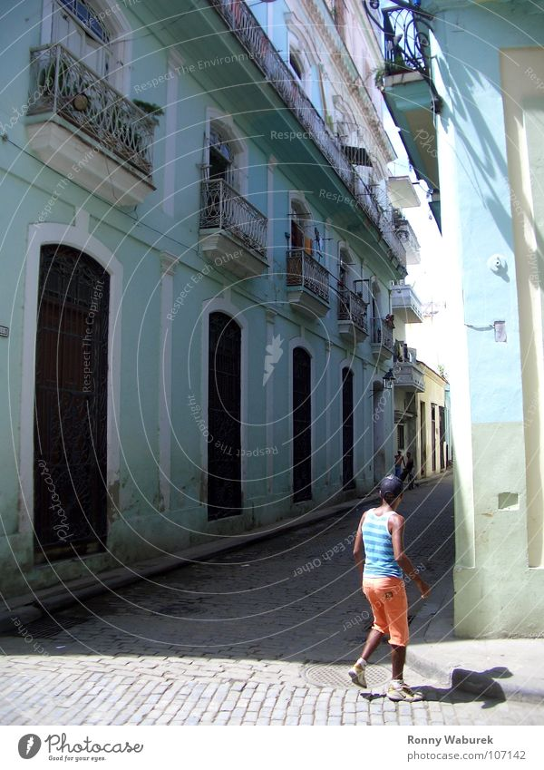 Havana - Old Town Cuba Central America Americas Salsa House (Residential Structure) Old building South South America La Habana Vieja Old town Lesser Antilles