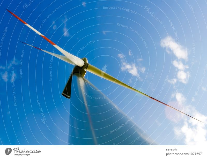 Wind Energy Sky Summer Sun Clouds Environment Movement Architecture Air Power Modern Free Technology Clean Wing
