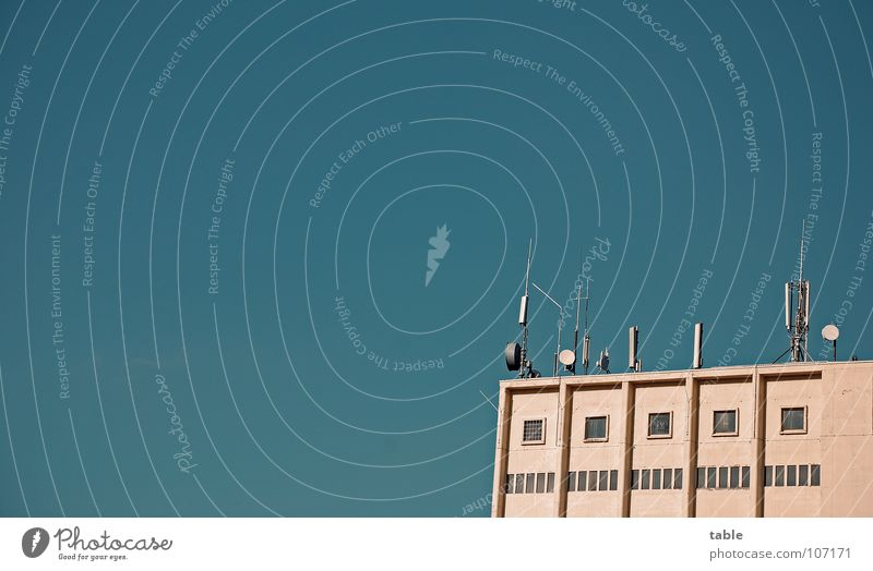 Stretching out the sensors . . . Antenna Telecommunications Roof Data protection Listening Bothersome Radiation Expensive Comfortable Mobility Accessible Sky