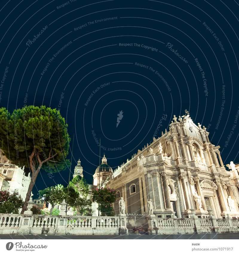 Catania Style Vacation & Travel Tourism Sightseeing City trip Culture Tree Town Old town Church Dome Places Manmade structures Building Architecture Exceptional