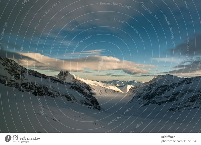 Sky Nature Landscape Clouds Cold Environment Mountain Snow Rock Ice Beautiful weather Peak Frost Alps Snowcapped peak Glacier