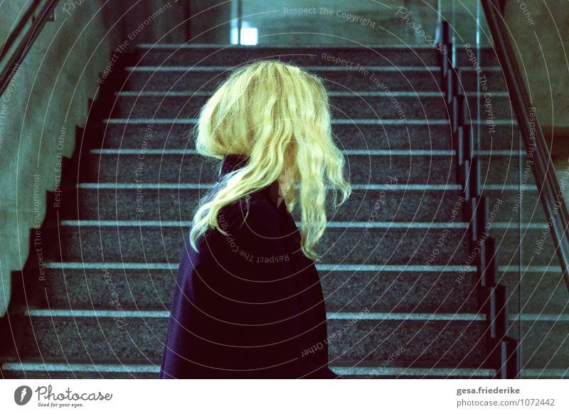 Beautiful Winter Sadness Movement Architecture Feminine Lanes & trails Hair and hairstyles Dream Design Elegant Glass Concrete Creativity Uniqueness Culture