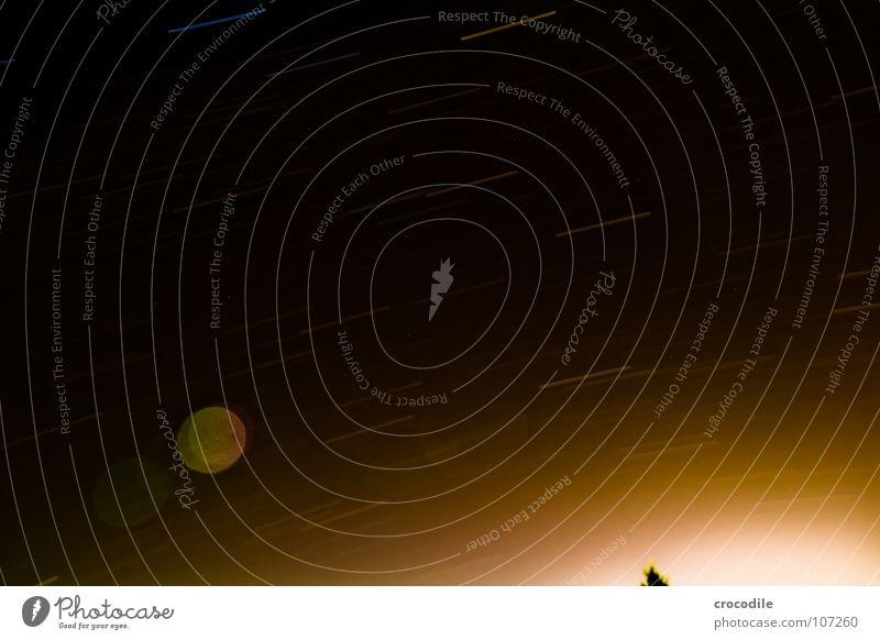 star orbits Comet Long exposure Romance Diffused light Dark Night Tripod Milky way Planet Autumn Sky Earth earth rotation Movement Universe unexplored Sun Stars