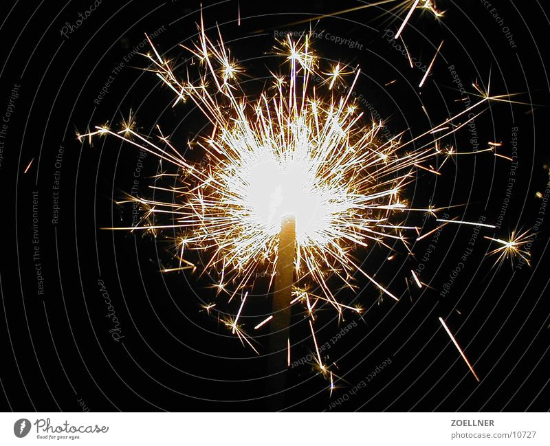 Sparkler 1 Wonder Candle Firecracker New Year's Eve Electrical equipment Technology Blaze