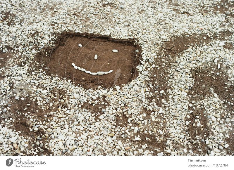 Face Emotions Lanes & trails Gray Stone Line Brown Bright Sand Head Happiness Friendliness Fashioned Wiggly line