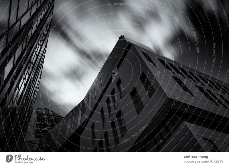 City Window Movement Architecture Building Business Arrangement Modern High-rise Perspective Esthetic Speed Uniqueness Roof Leipzig Competition