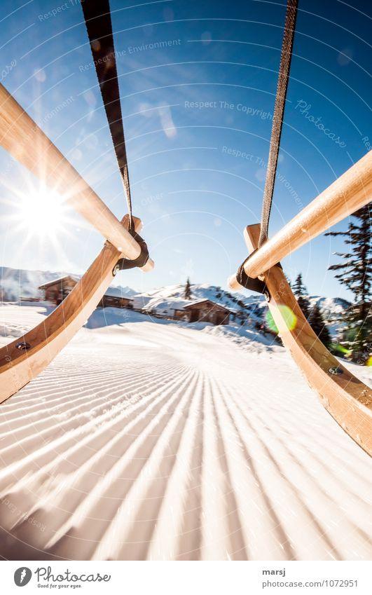 Vacation & Travel Blue Joy Winter Emotions Movement Snow Freedom Tourism Ice Speed Trip Joie de vivre (Vitality) Beautiful weather Adventure Frost