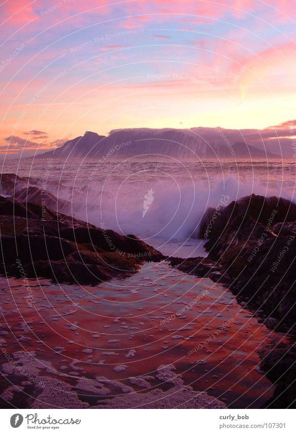 Water Beautiful Sky White Ocean Mountain Freedom Waves Wet Rock Fresh Africa Americas Bay Dusk Inject