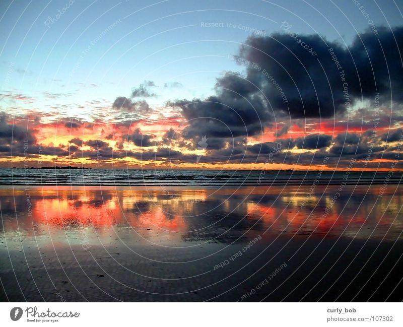 Water Sky Sun Ocean Beach Clouds Sand Waves Blaze Hope Mirror Dusk Cape Atlantic Ocean South Africa Africa